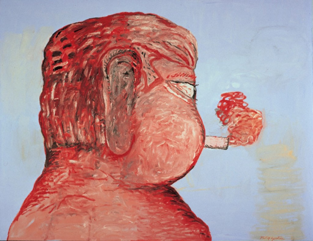 Guston-Portrait of Morton Feldman